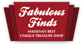 Fabulous Finds MASSENA'S BEST  UNIQUE TREASURE SHOP